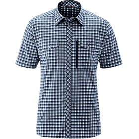 Maier Sports Peyo SS Shirt Men blue check